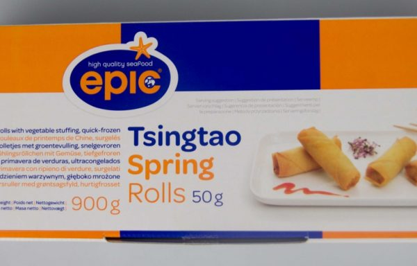 Spring rolls vegetale mici(15 gr/piesa) si spring rolls vegetale mari(50 gr/piesa).