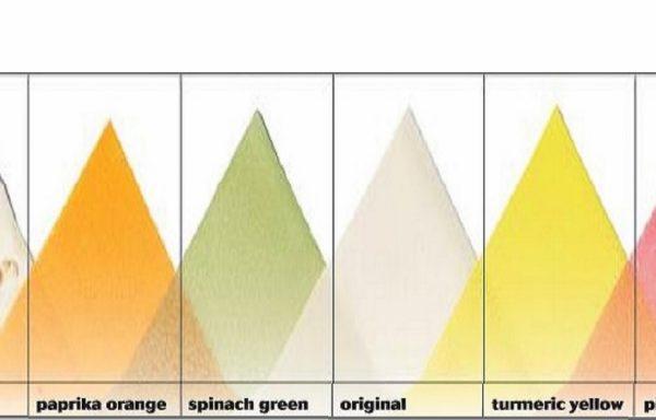 Foi de soia colorate.Original, cu susan, galbene, roz, orange si verzi.