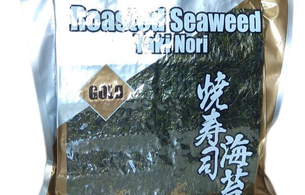 Foi Nori pentru sushi, întregi, calitate 'Gold', pachet de 130 gr