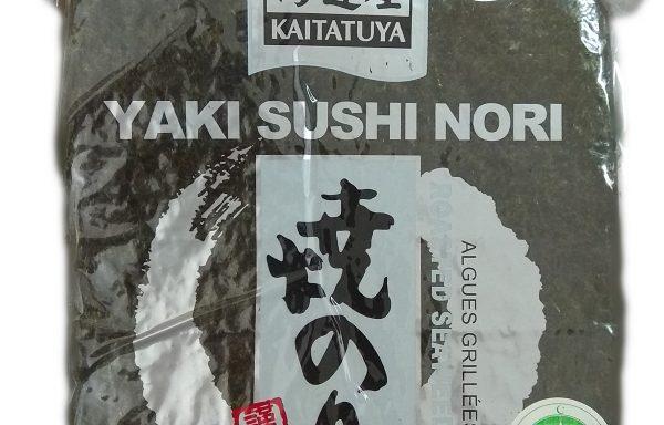 Foi Nori pentru sushi, întregi (full sheets), calitate 'Silver', pachet de 140 gr