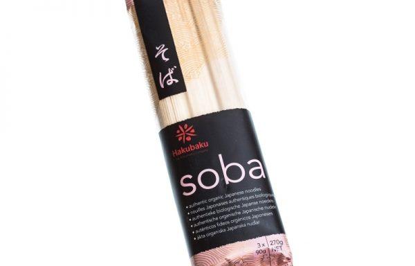 Paste Hakubaku Soba, pachet de 270gr
